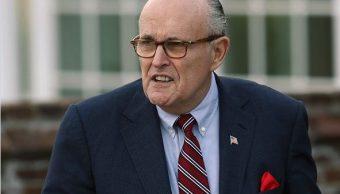 Rudy Giuliani, exalcalde de NY y abogado de Trump. (AP, archivo)