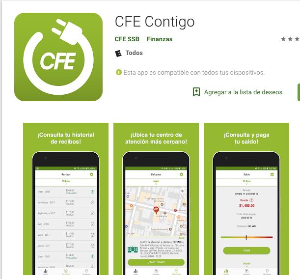app-cfe-pagar-luz-celular