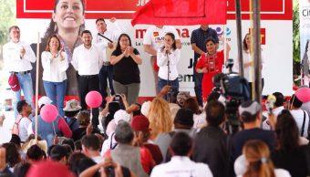 sheinbaum acciones elecciones pacificas claudia iztapalapa