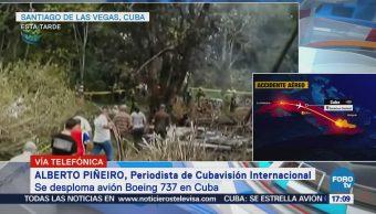 Sigue Investigación Accidente Aéreo Habana