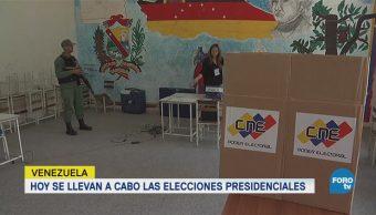 Venezuela llevaba a cabo elecciones presidenciales