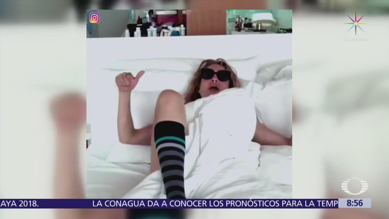 Video de Paulina Rubio en Instagram desata críticas