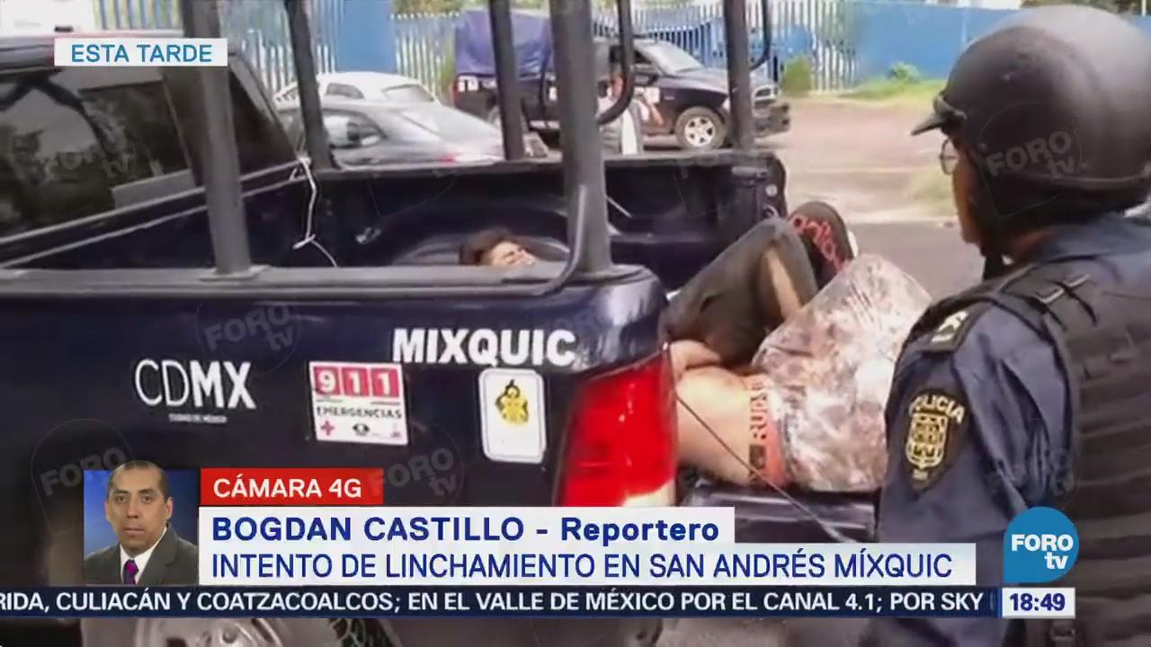 Pobladores Mixquic Intentan Linchar Dos Presuntos Asaltantes