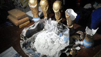 Narcotraficantes argentinos transportaban droga en trofeos