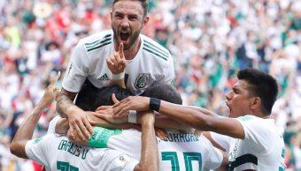 México vence 2-1 a Corea del Sur en el Mundial de Rusia