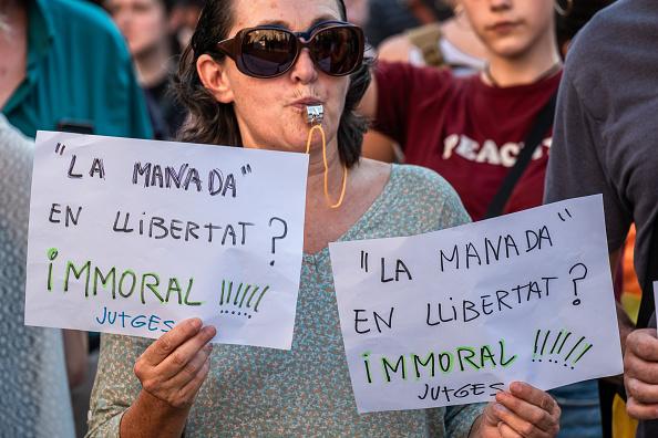 Miembros de 'La Manada', acusados de violación en España