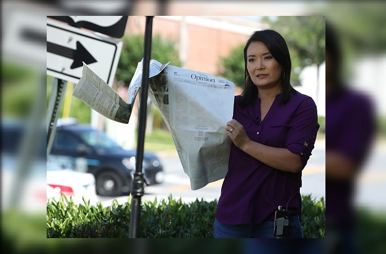 Periódico de Maryland que sufrió tiroteo sale con sección