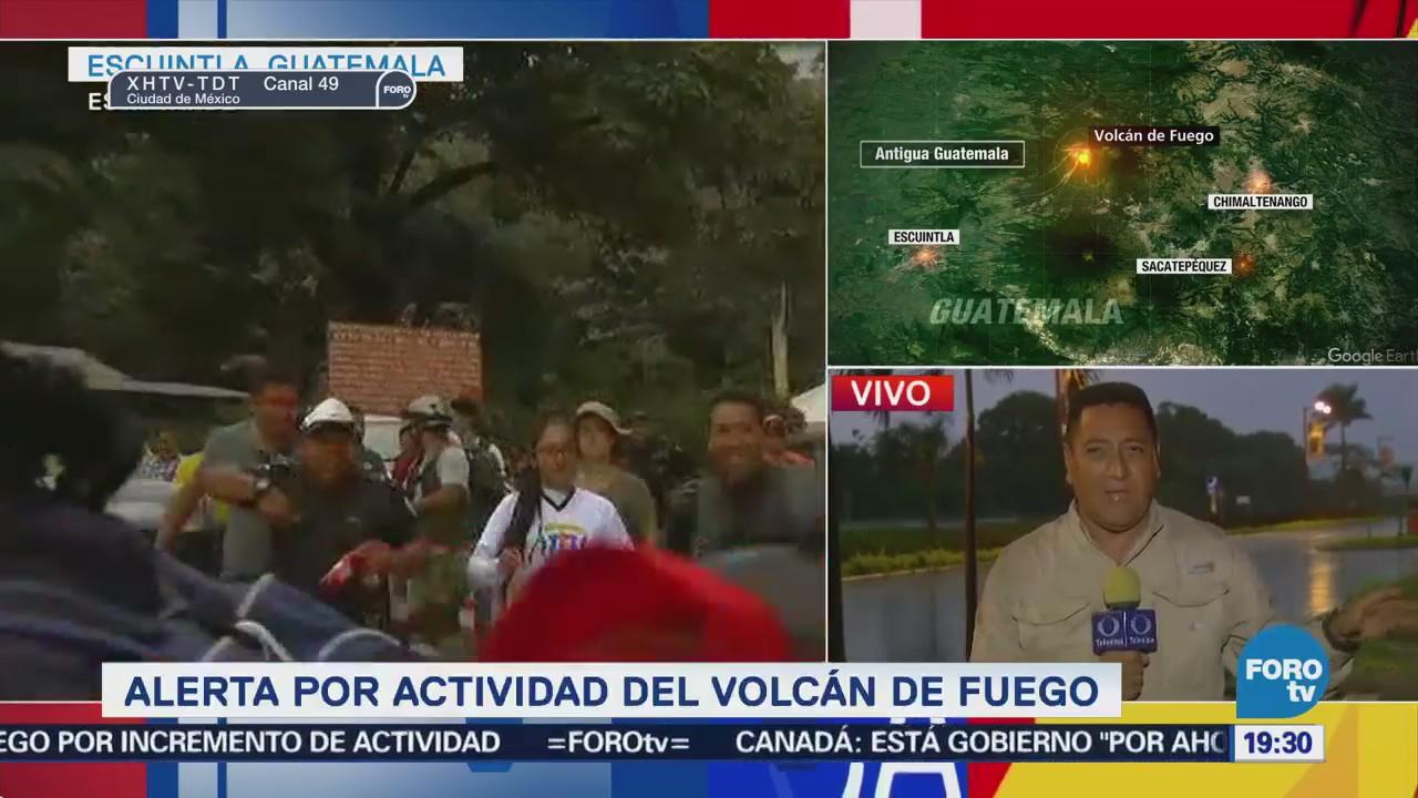 Nubosidad Obstruía Monitoreo Actividad Volcán De Fuego