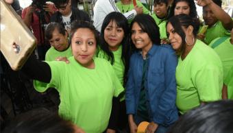 Barrales recibe apoyo de PVEM, Panal y el Humanista