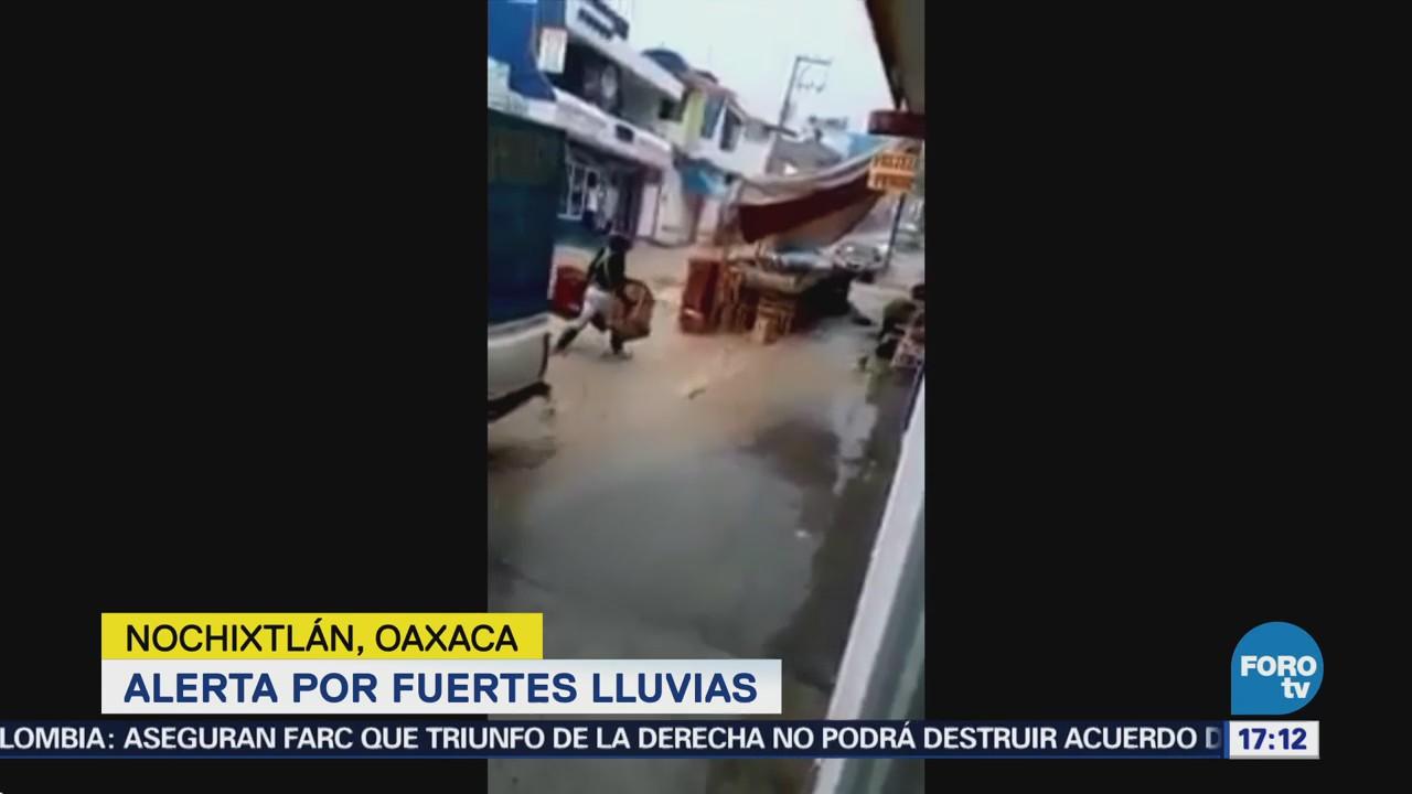 Alerta Fuertes Lluvias Oaxaca