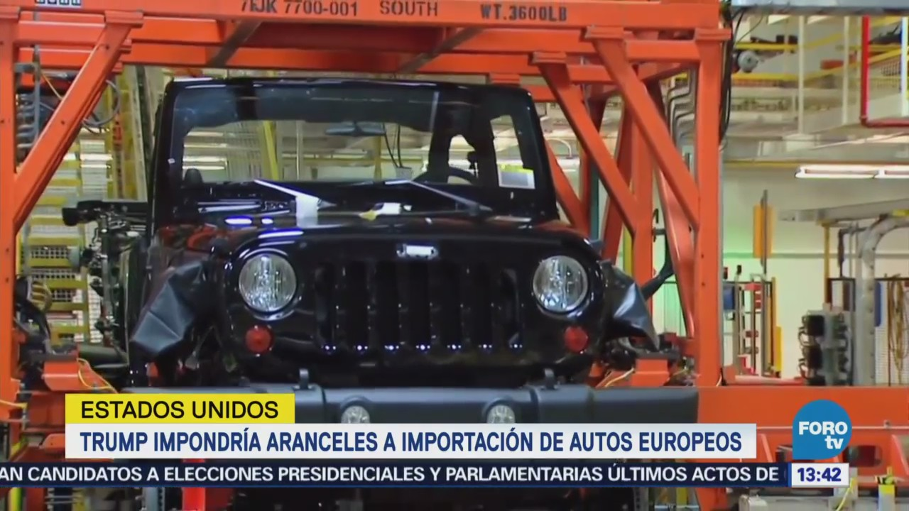 Amenaza Trump Con Aranceles Del 20 A Autos Europeos Noticieros