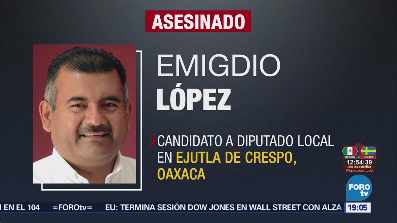 Atacan Candidatos Oaxaca Hechos Distintos