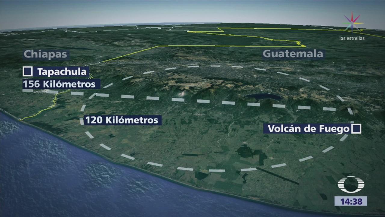 Autoridades Descartan Llegue Ceniza México Desde Guatemala