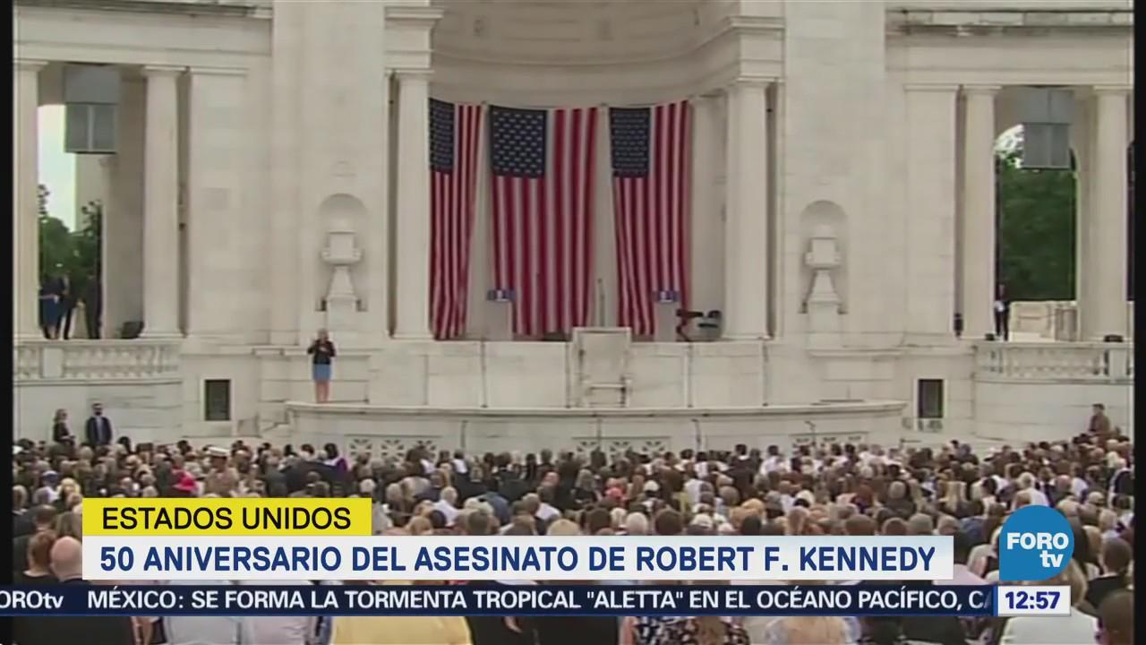 Bill Clinton reconoce legado de Robert F. Kennedy
