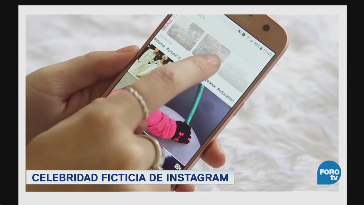 Celebridad ficticia de Instagram
