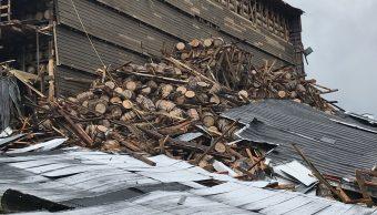 Colapsa bodega Kentucky 18 mil barriles Whiskey