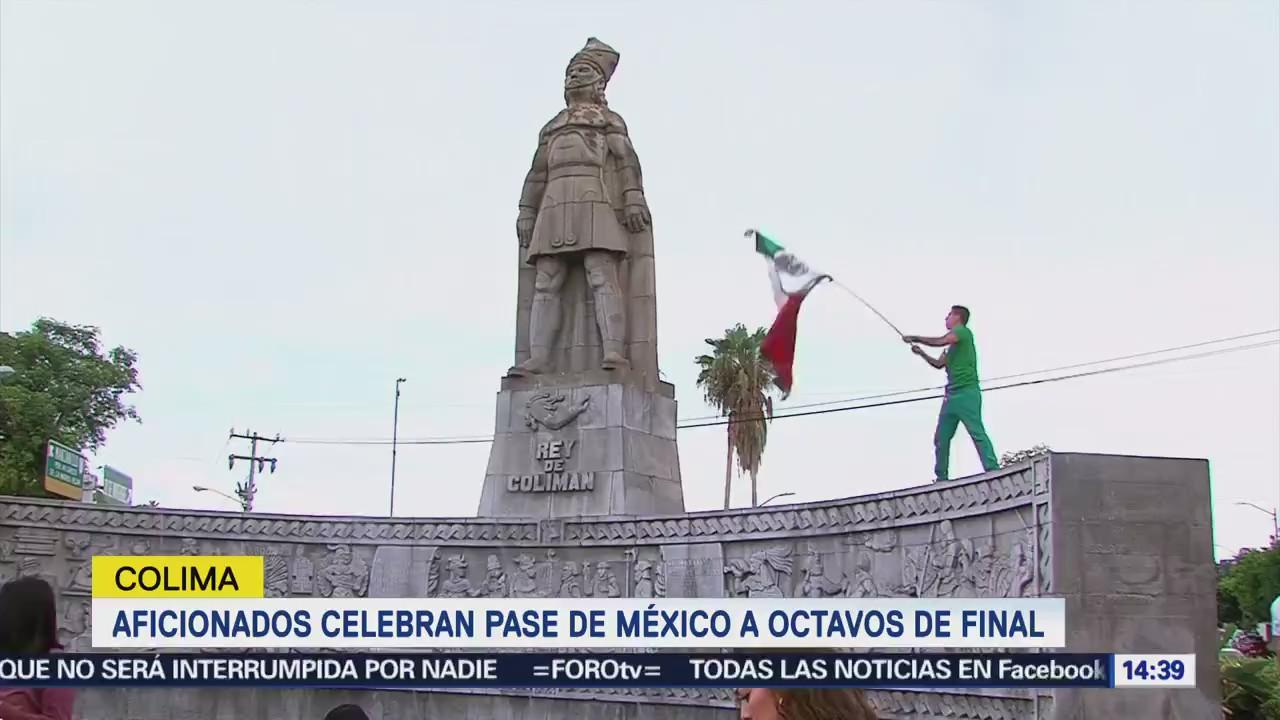 Colima Festeja Pase Octavos Final Selección Mexicana