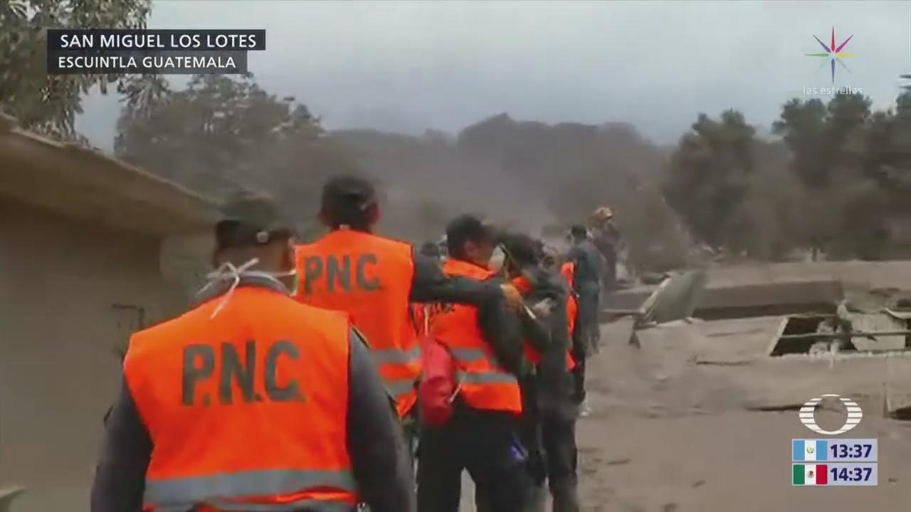 Continúa Búsqueda Víctimas Guatemala