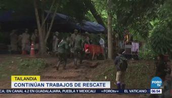 Continúan Trabajos Rescate Niños Cueva Tailandia