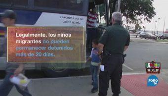 Denuncian maltrato a menores indocumentados
