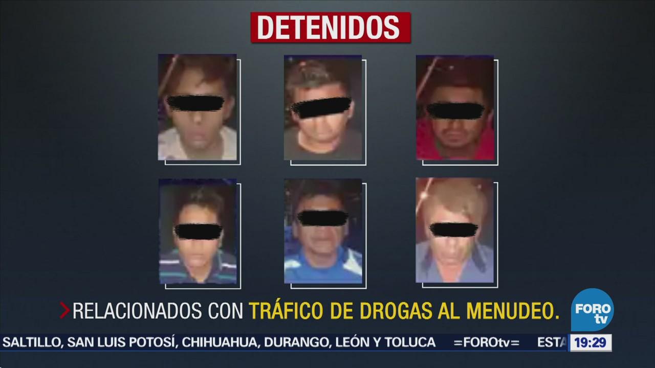 Detienen Nueve Presuntos Delincuentes Cdmx