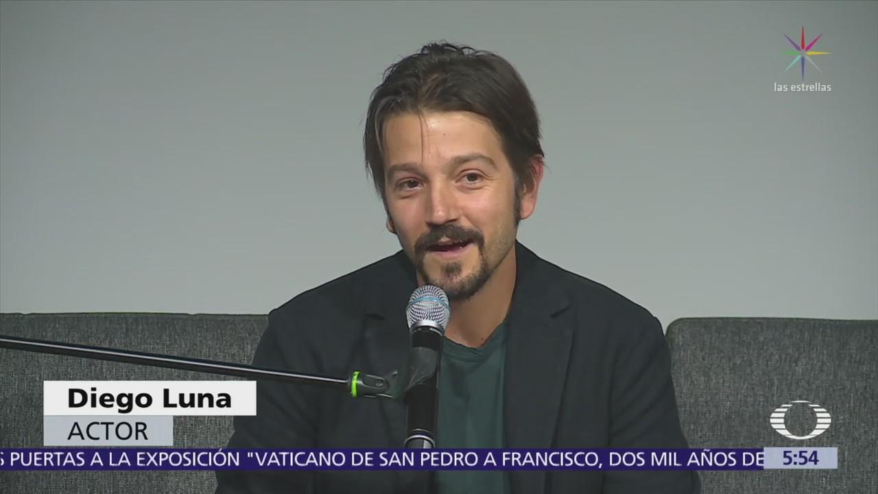 Diego Luna presenta la iniciativa 'El día después'