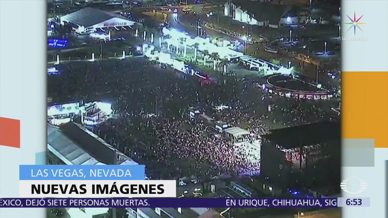 Difunden nuevo video del tiroteo de octubre en Las Vegas