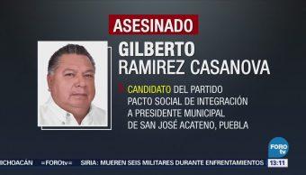 Disparan Contra Casa Vehículo Candidato Puebla