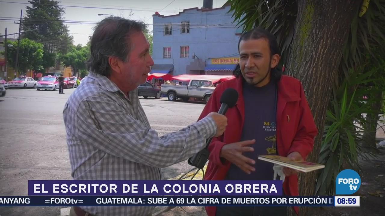 El escritor de la colonia Obrera | Noticieros Televisa