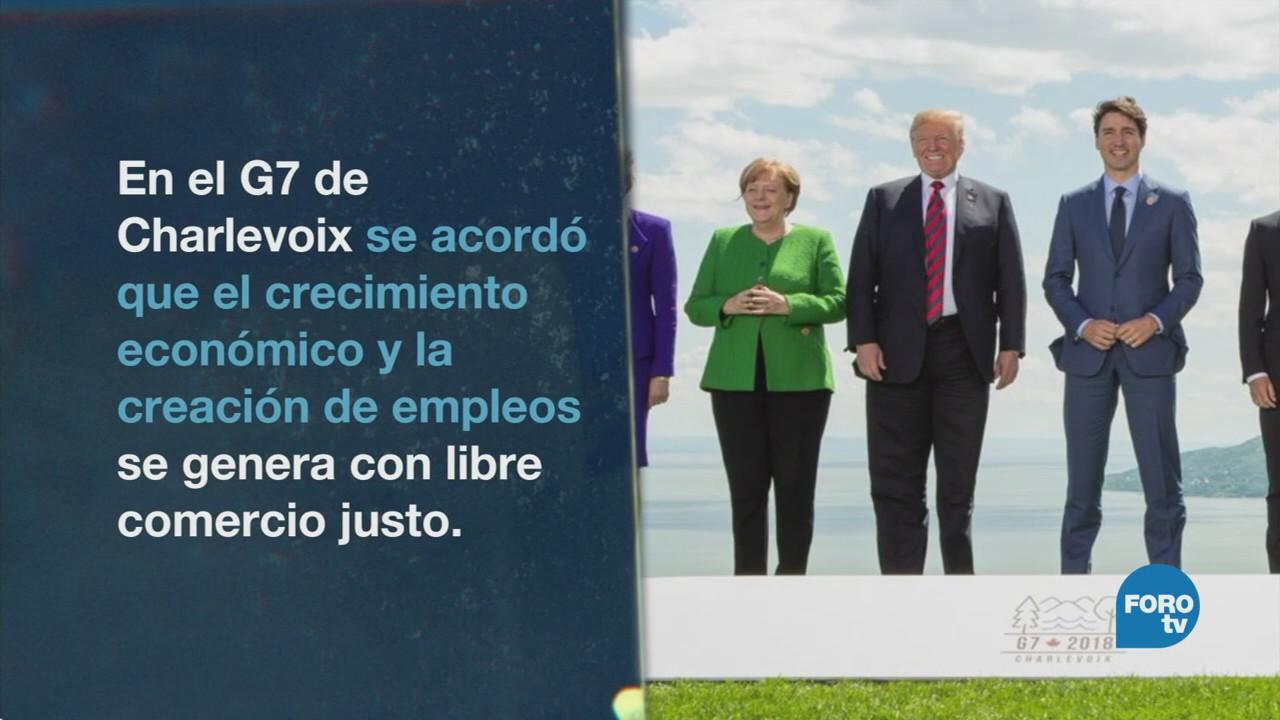 El G7 termina sin Donald Trump