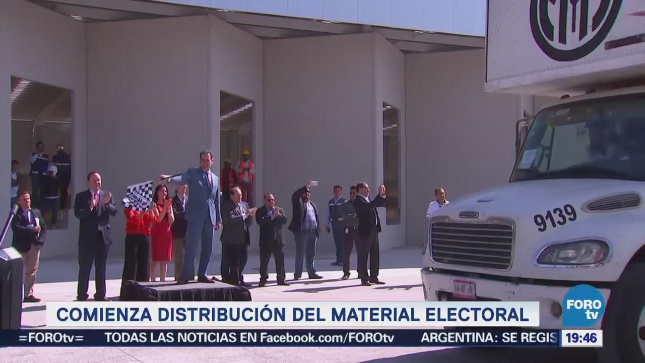 Empieza Reparto Material Electoral País Elecciones