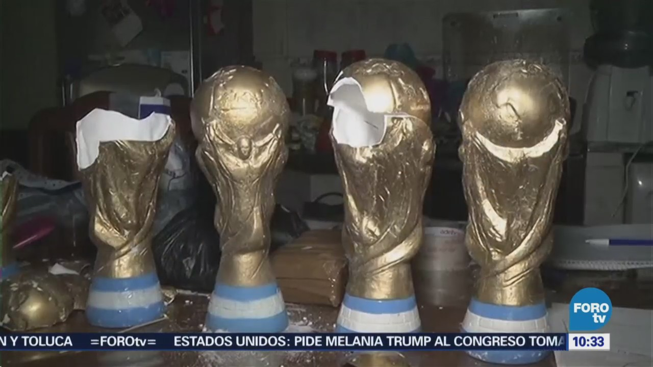 Argentina Narcos Escondían Droga Trofeos
