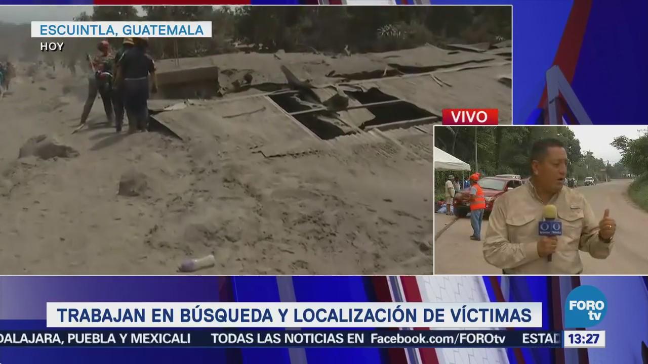 Guatemala Piso Arde Tras Erupción Volcán De Fuego
