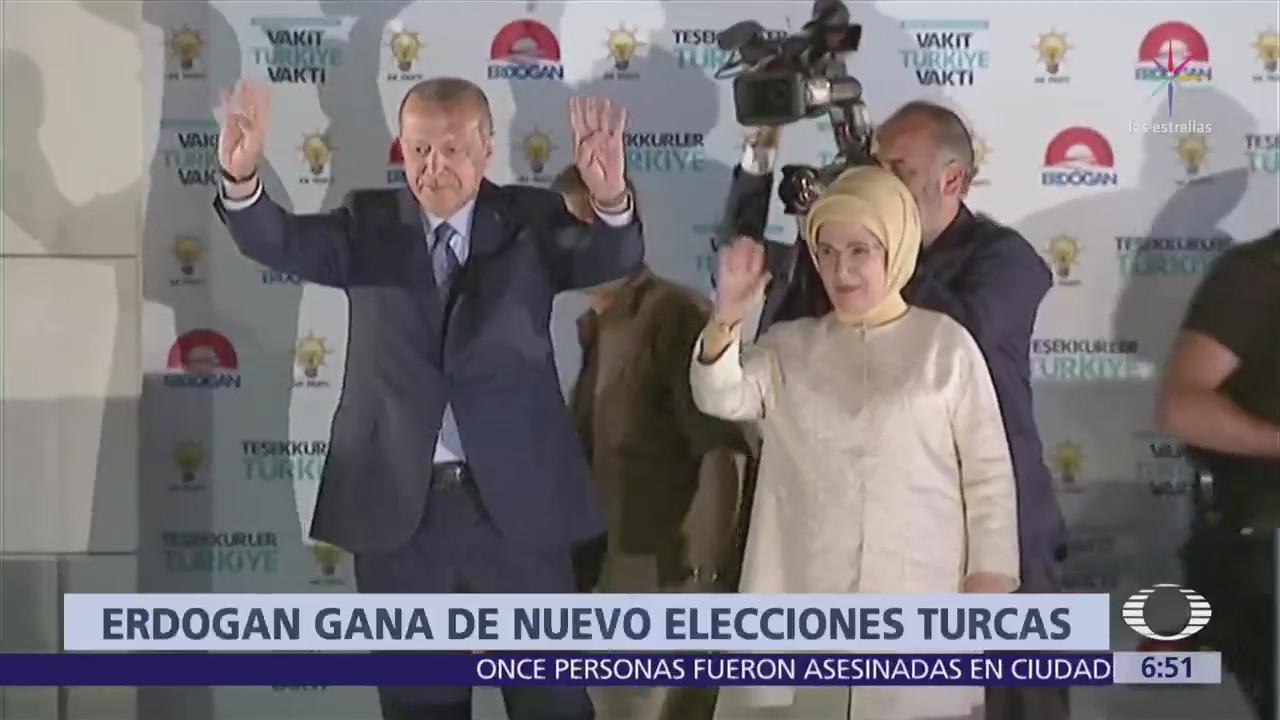 Erdogan será presidente de Turquía cuatro años más