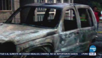 Explotan tres pipas cargadas con gas LP en Tepotzotlán, Estado de México