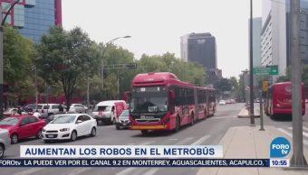 Extra Extra: Aumentan los robos en el Metrobús CDMX