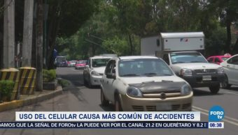 Extra Extra: Distracción por celulares aumenta estadísticas de accidentes viales
