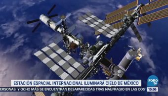 Extra Extra: Estación Espacial Internacional iluminará cielo de México