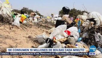 Extra Extra: Se consumen 10 millones de bolsas cada minuto