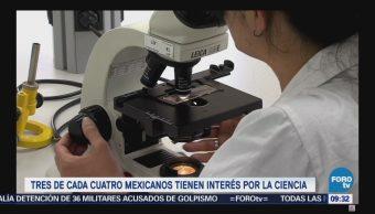Extra Extra: Tres de cada cuatro mexicanos tienen interés por la ciencia