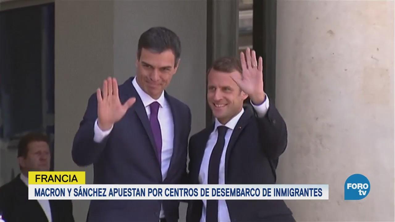 Francia España Proponen Creación Centros Desembarco Inmigrantes