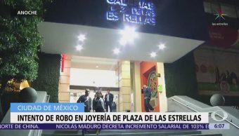 Frustran robo a joyería en plaza comercial de Circuito Interior