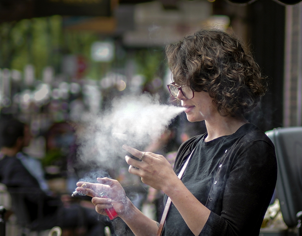 Fumar Corteza Cerebral Cerebro Fumadores Estudio