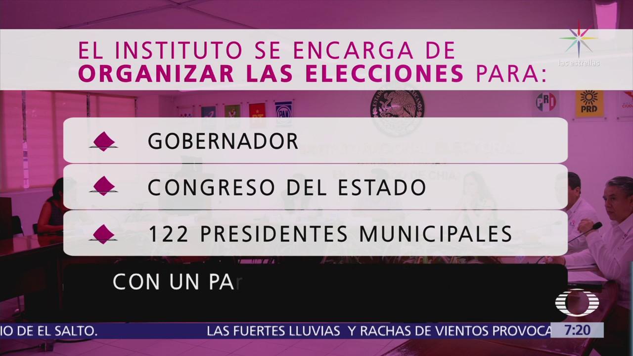 Instituto Electoral de Chiapas no tiene dinero