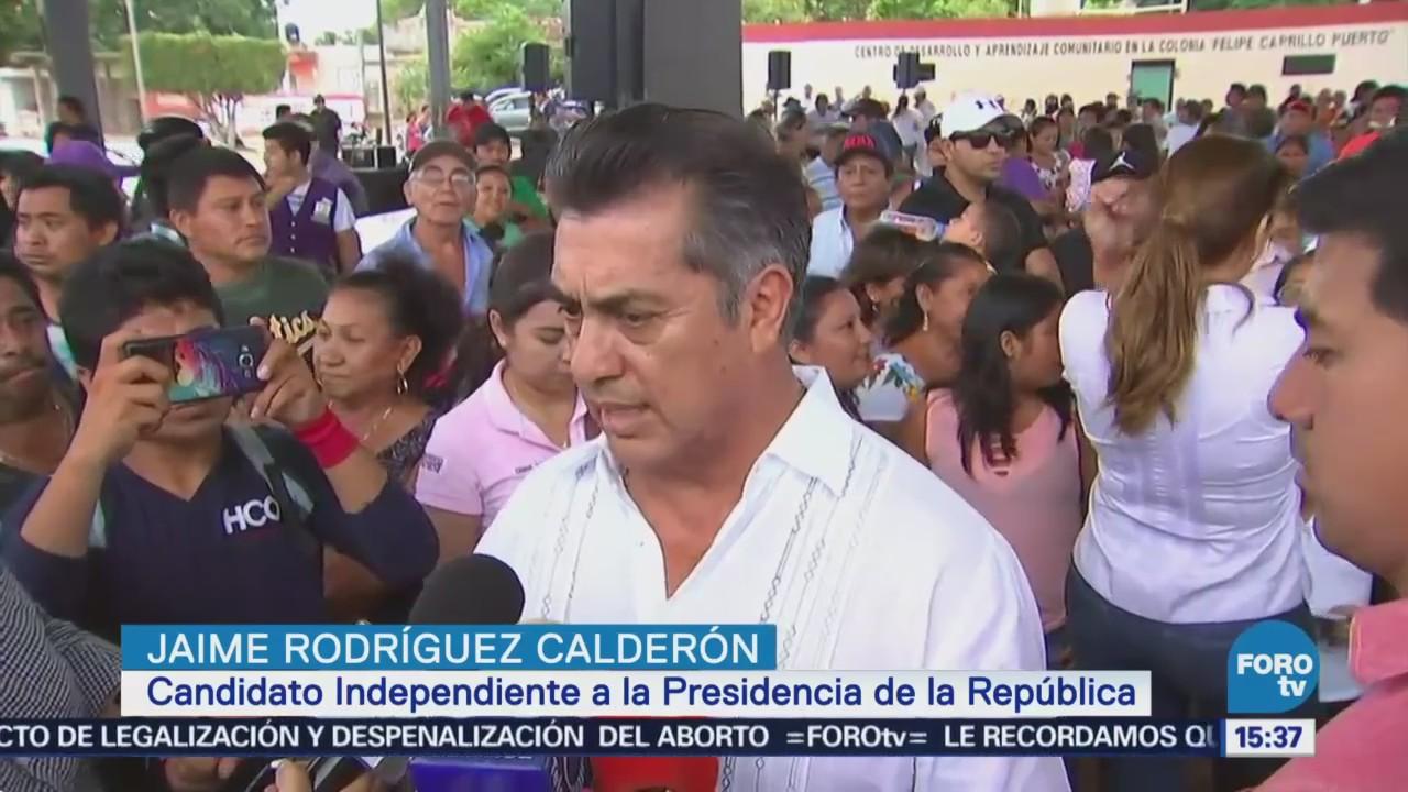 Jaime Rodríguez Hace Balance Participación Debate