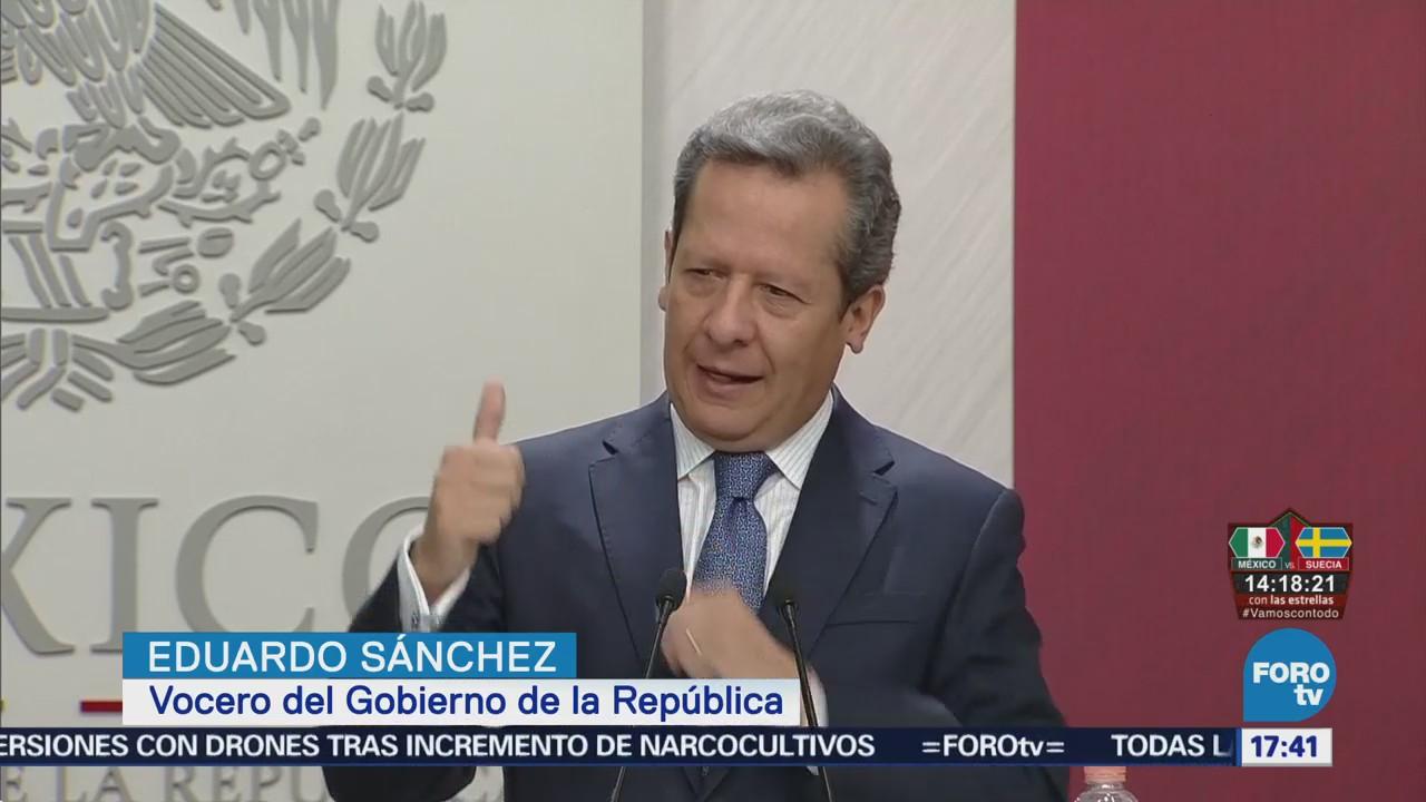 Modelo Electoral México Excelencia Eduardo Sánchez, Vocero