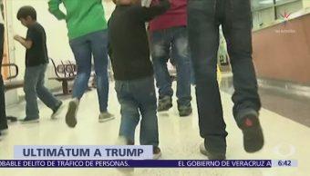Juez da 2 semanas a Trump para reunir a familias migrantes