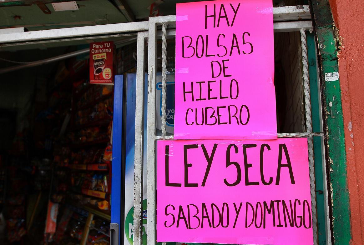 CDMX aplicará ley seca este domingo por jornada electoral