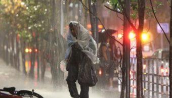 Activan Alerta Amarilla por lluvias en 9 delegaciones
