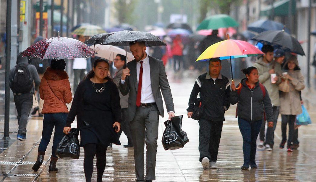 Activan Alerta Amarilla por lluvia en siete delegaciones